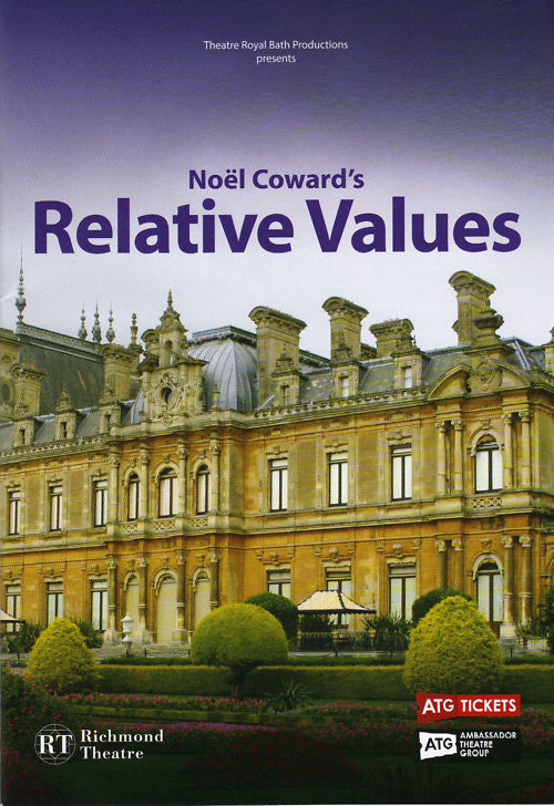 THEATRE-PROGRAMME-NOEL-COWARDS-RELATIVE-VALUES-RORY-BREMNER